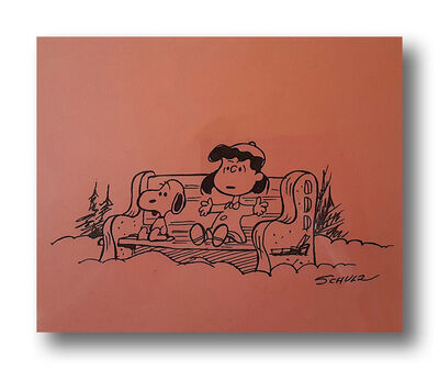 Charles M. Schulz, 'A Friend Is Someone Who Just Listens …and Listens', ca. 1970s