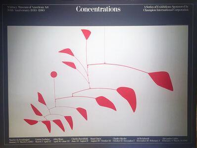 Alexander Calder, 'Concentrations', 1980