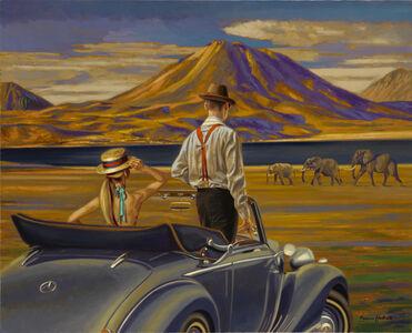 """Peregrine Heathcote, '""""On Safari""""', 2019"""