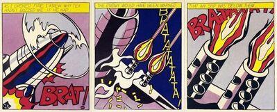 Roy Lichtenstein, 'As I Opened Fire', ca. 1997