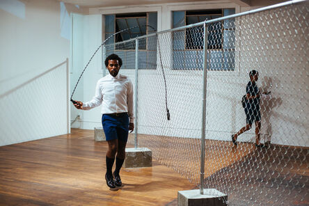 EJ Hill, 'The Fence Mechanisms', 2014