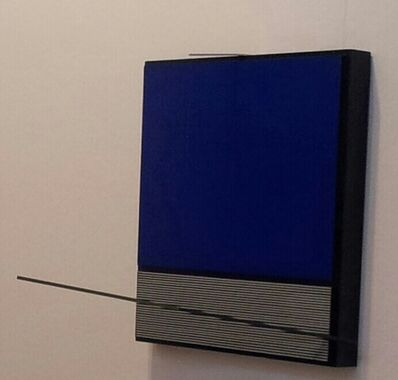 Jesús Rafael Soto, 'Vert, noir et bleu', 1997