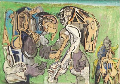 Mohan Samant, 'Three Women', 1981