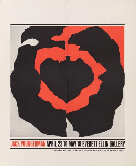 "Jack Youngerman, 'Everett Ellin Gallery, ""Jack Youngerman"" ', 1963"