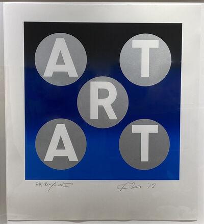 Robert Indiana, 'ART Rainbow Silver', 2014