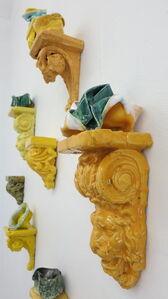 Heidi Bjørgan, 'Yellow Installation', 2019