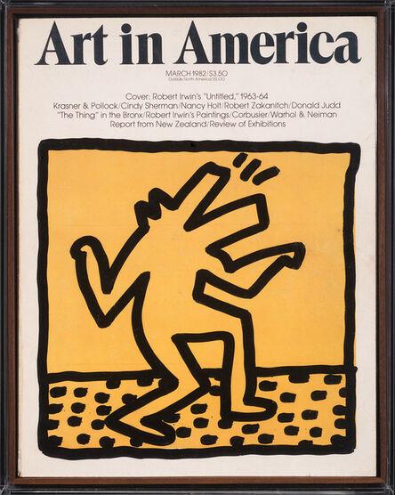 Keith Haring, 'Untitled ('Barking Dog')', 1982