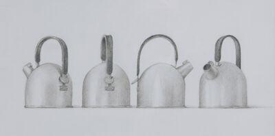 Elizabeth Johansson, 'Four Roman Teapots', 2011