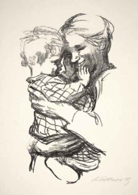 Käthe Kollwitz, 'Mother with Child in Her Arms (Mutter mit Kind auf Dem Arm)', 1916