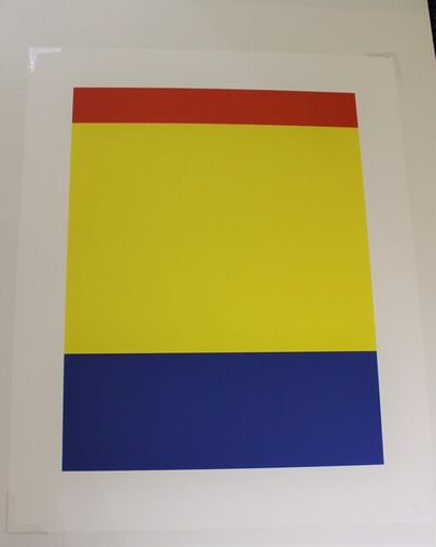 Ellsworth Kelly, 'Red Yellow Blue', 2000