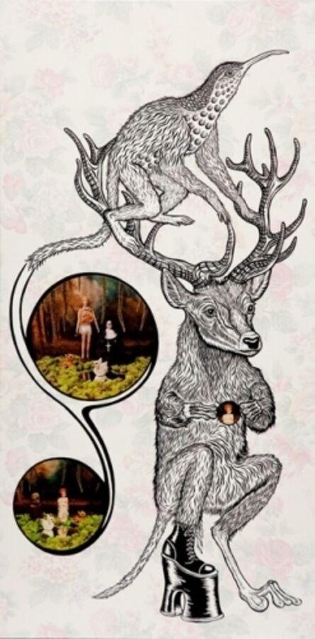 Lezley Saar, 'Lisette Was So Puzzled', 2010