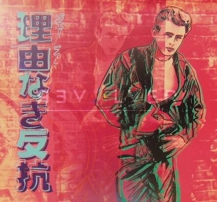 Andy Warhol, 'Rebel Without a Cause (James Dean) (FS II.355)', 1985