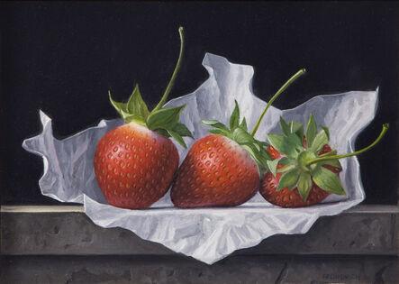 James Aponovich, 'Three Strawberries', 2013