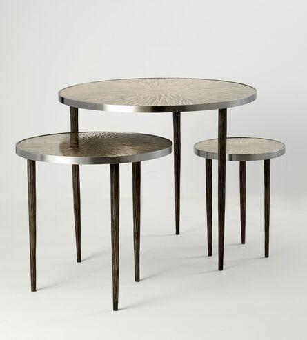 Franck Chartrain, 'Astres: Set of Three Tables', 2014