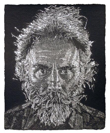 Chuck Close, 'Lucas/Paper Pulp', 2006