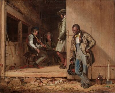 William Sidney Mount, 'The Power of Music', 1847