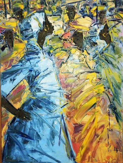 Ablade Glover, 'Confrontation', 2014