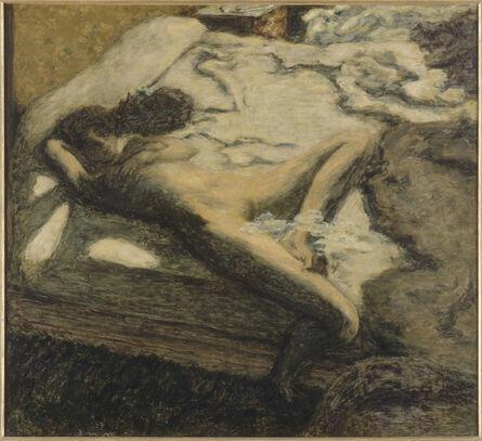 Pierre Bonnard, 'Femme assoupie sur un lit, dit aussi L'Indolente (Woman Dozing on a Bed or The Indolent Woman)', 1899