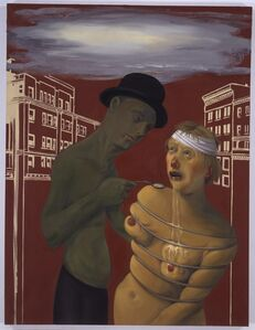 Nicole Eisenman, 'Commerce Feeds Creativity', 2004