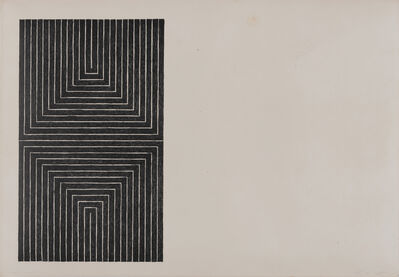 Frank Stella, 'Frank Stella 'Arundel Castle (AXSOM 5)' 1967 Print', 1967