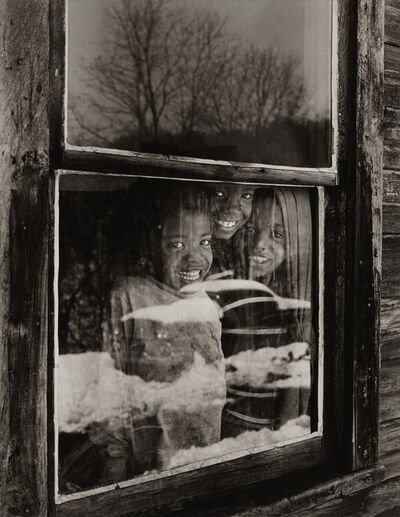 Builder Levy, 'Osage Window, Osage, Scotts Run, West Virginia', 1970