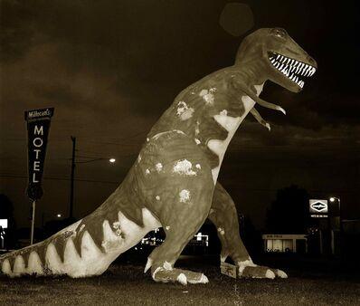 Steve Fitch, 'Dinosaur, Highway 40, Vernal, Utah', 1974