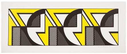 Roy Lichtenstein, 'Repeated Design', 1969
