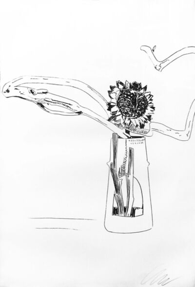 Andy Warhol, 'FLOWERS FS II.102 (BLACK AND WHITE)', 1974