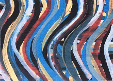 Sol LeWitt, 'Brushstrokes: Horizontal And Vertical IX', 1996