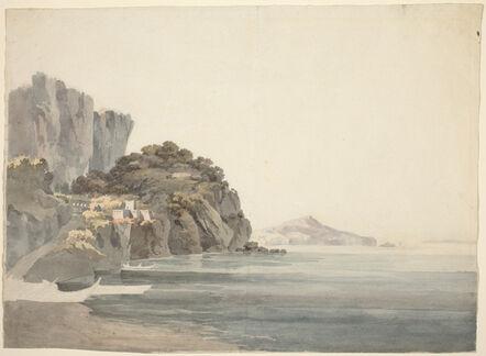 William Pars, 'An Italian Coast Scene'