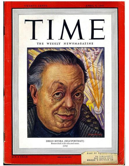 Diego Rivera, '1940s Diego Rivera Time Magazine', 1949