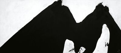 Robert Motherwell, 'In Black and White No. 2', 1975
