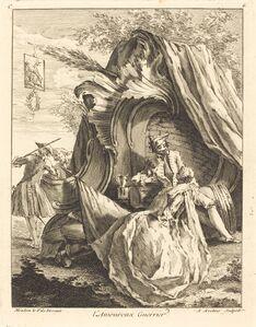 Antoine Aveline, 'l'Amoureux Guerrier', 1736