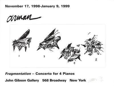 Arman, 'Fragmentation', 1999