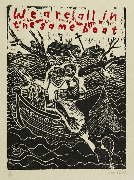 Sue Coe, 'We Are All in the Same Boat', 2005