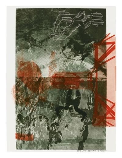 Robert Rauschenberg, 'Bait, from Stoned Moon Series', 1970