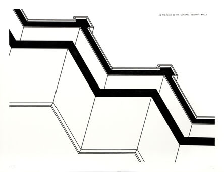 Robert Morris (b. 1931), 'Security Walls', 1978