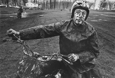 Danny Lyon, 'Racer, Schererville, Indiana', 1965