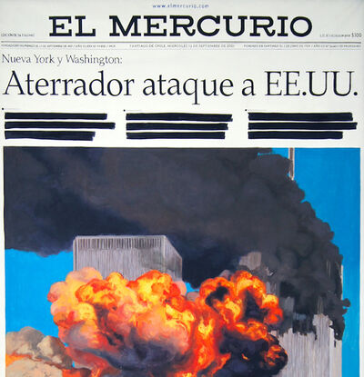 Voluspa Jarpa, 'El Mercurio torres gamelas', 2003