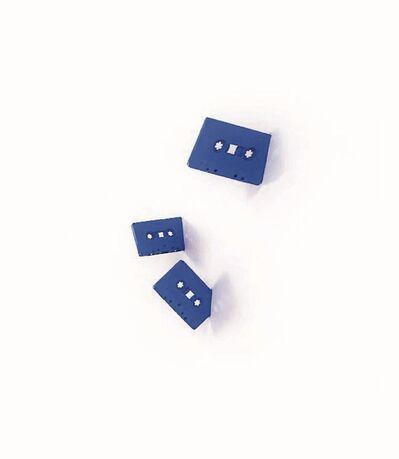 Lyle Owerko, 'Cassetes (Klein Blue, Set of 5)', 2015