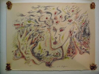 André Masson, 'Viviane Original Surrealist Lithograph signed and numbered', 1970-1979