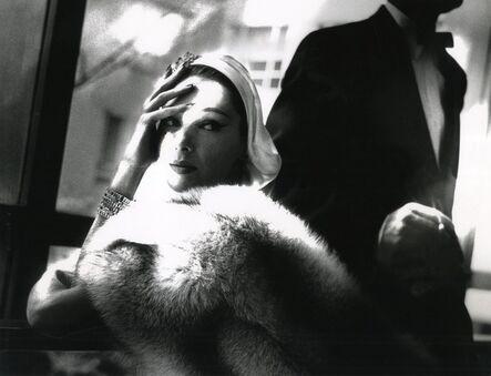 Lillian Bassman, 'Golden Fox, Blue Fox', 1954
