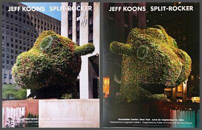 Jeff Koons, 'Split - Rocker (Hand Signed)', 2014