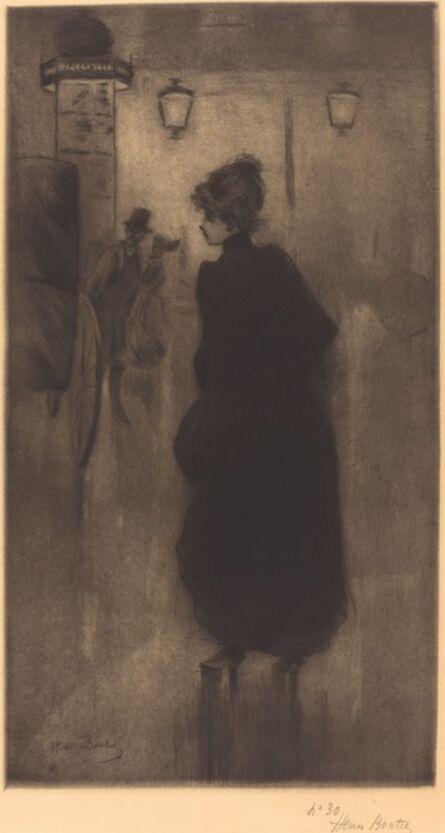 Henri Boutet, 'Parisian Woman (The Effect of the Night)', 1893