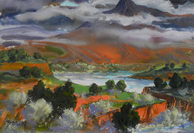 Evelyne Boren, 'Clouds Over Cerro Pedernal', ca. 2011