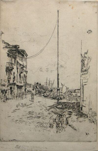 James Abbott McNeill Whistler, 'The Little Mast', 1879-1880