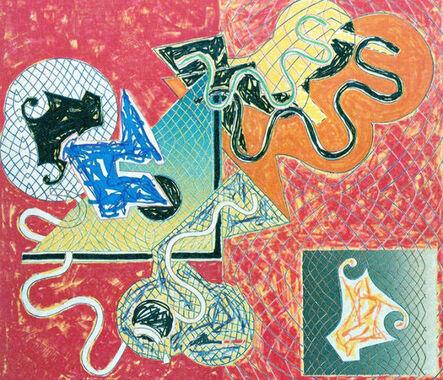 Frank Stella, 'Shards IV', 1982
