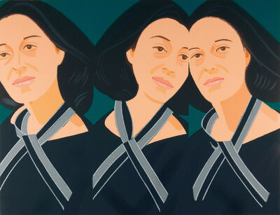 Alex Katz, 'Grey Ribbon (3 Times Ada)', 1990