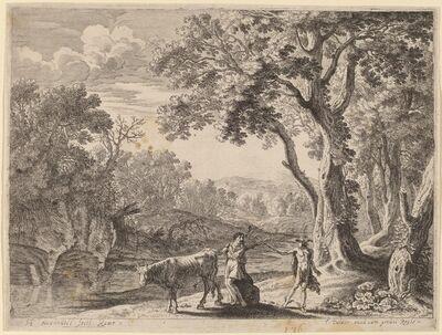 Herman van Swanevelt, 'Battus Transformed into Stone'