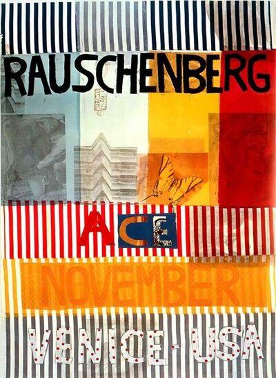 Robert Rauschenberg, 'Ace Gallery, Venice, California (lg)', 1977